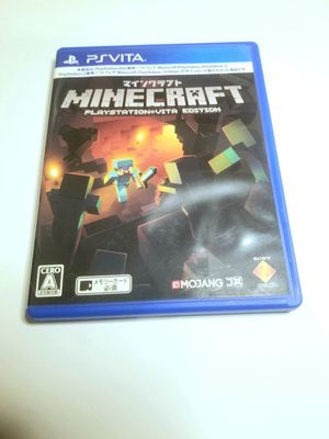 Minecraft PS Vita Game Japanese for Sale in The Bronx, NY