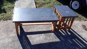 Coffee table end table for Sale in Greenville, SC