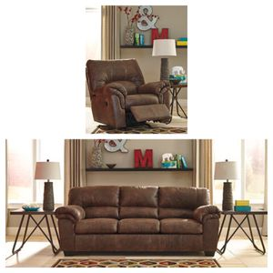 Brand New Sofa With Matching Recliner for Sale in Massapequa, NY