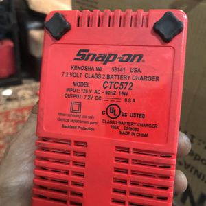Snap On Battery Charger for Sale in San Bruno, CA