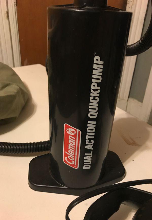 Coleman quick pump