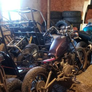 MOTORCYCLES AND ADULT GO CARTS. for Sale in Dover, PA