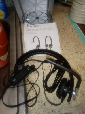 Logitech USB headset for Sale in Knoxville, TN