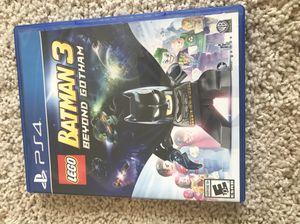 LEGO Batman 3 PS4 for Sale in Wenatchee, WA