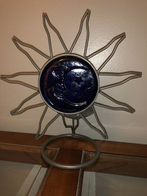 Decorative sun moon candle holder for Sale in Bolingbrook, IL