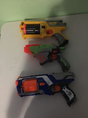 3 Nerf Guns for Sale in Miami, FL