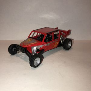NEW Red Sandrail Dune Buggy Car Toy Diecast Metal