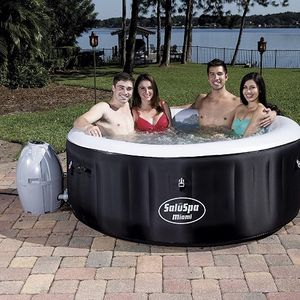 Bestway SaluSpa Miami Inflatable Hot Tub, 2-4 Person AirJet Spa. Brand new sealed in box . for Sale in Los Angeles, CA
