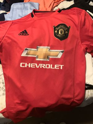 Authentic home Manchester Utd Jersey for Sale in San Marcos, TX
