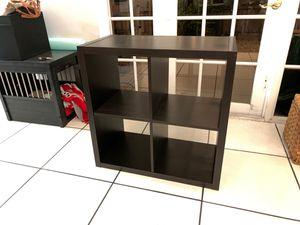 Cube Bookcase (IKEA Kallax) in Espresso Brown for Sale in Miami, FL