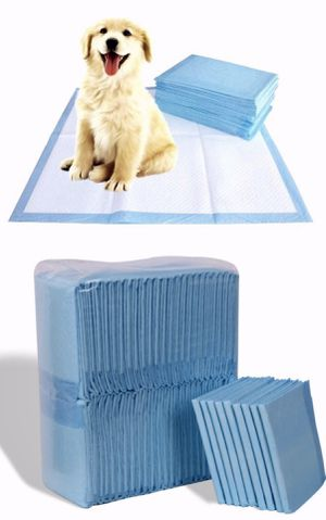 New in box 150pcs 30x30 inches pet wee pee piddle pad pet house training pads for Sale in Santa Fe Springs, CA