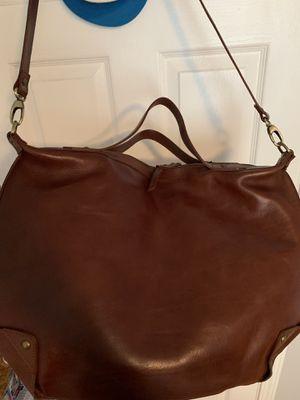 100% leather messenger bag (never used) for Sale in Lawrenceville, GA