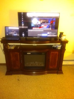Mahogany fireplace for Sale in Somersworth, NH
