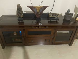 Tv stand solid wood for Sale in Homestead, FL