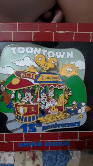 Disney 15th anniversary toontown pin for Sale in San Lorenzo, CA