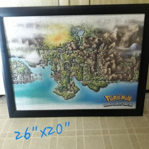 Pokemon - Large Wall Picture for Sale in Menifee, CA