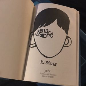 Wonder hardcover book for Sale in Johnson City, NY