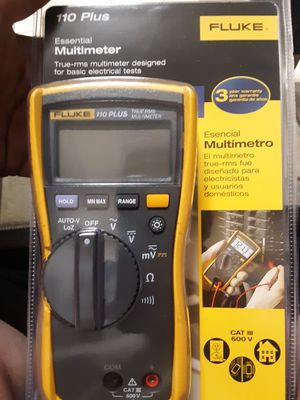 Fluke 110 Plus multimeter for Sale in Puyallup, WA