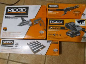 Ridgid power tools new in box for Sale in Catalina, AZ
