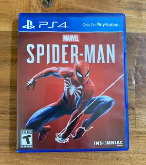 y Station Game PS4 Marvel Spider-Man for Sale in Redondo Beach, CA