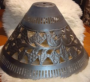 VINTAGE VICTORIAN METAL LAMP SHADE for Sale in Chino Hills, CA