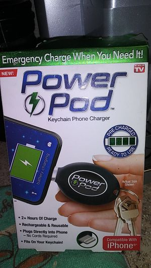 Emergency charge when you need it power Cod keychain phone charger for Sale in Knoxville, TN