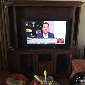 Panasonic TV And Entertainment Center for Sale in Corona, CA