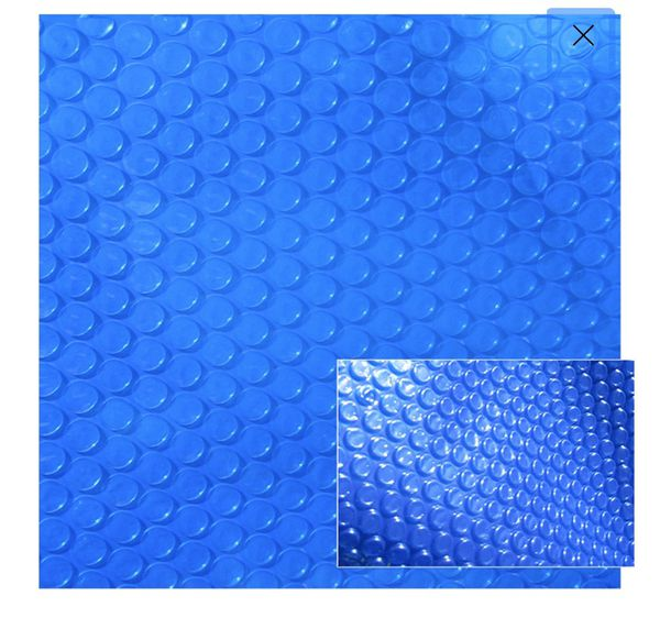 Blue Wave 8'x8' Spa Cover / Heater insulator / Solar Blanket - 12 Mil