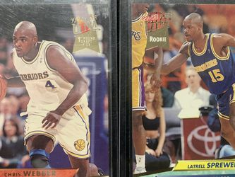 Chris Webber & Latrell Speedwell Rookie Cards for Sale in Ontario,  CA