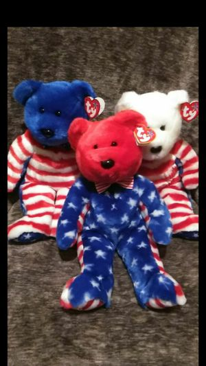 Mint Condition Ty Beanie Babies Buddies Large Size Liberty Collection Red White And Blue for Sale in Portland, OR