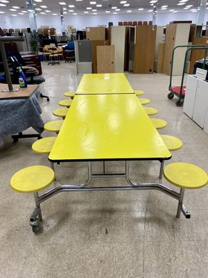(4) Commercial grade Cafeteria/Lunchroom/break room folding tables for Sale in Columbus, OH