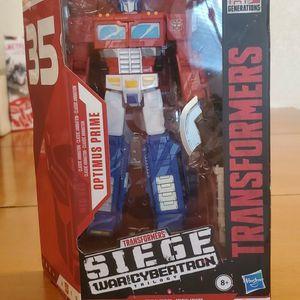 Transformers WFC Seige Optimus Prime Anniversary Edition for Sale in Stanton, CA