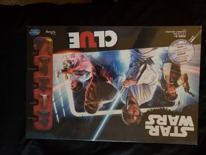 Star Wars Clue Board game New Still Factory Sealed by manufacturer. NEW for Sale in Vancouver, WA