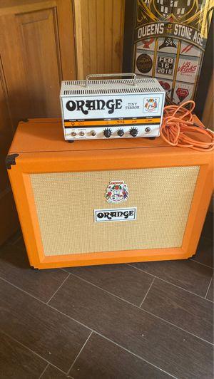 Orange tiny terror tube amp and ppc212ob can for Sale in Phoenix, AZ