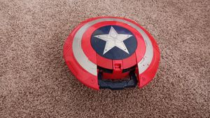Exclusive And Rare Captain America Missle Shield,Bonus:comes with 4 extra Nerf bullets for Sale in Irving, TX