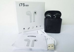 New black i7 Bluetooth headphones wireless Earbuds for Sale in Denver, CO