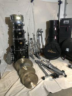 Pearl Masters Custom Drum Set- Original Owner for Sale in Kirkland,  WA