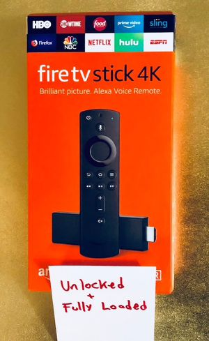 Fire TV stick 4K fully loaded for Sale in Upland, CA