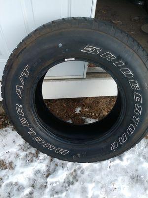2 like new 255/70/18 Bridgestone Dueler A/T tires for Sale in Monroe, CT