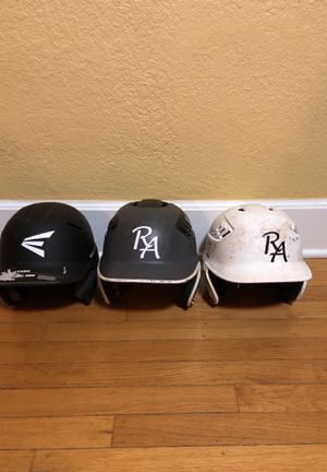 Batting Helmet 2 Rijo and 1 Easton baseball batting helmets for Sale in Seattle, WA