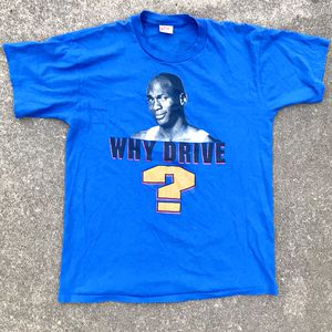 1992 DOUBLE SIDED Michael Jordan Nike Grey Tag Tee Shirt M for Sale in Renton, WA