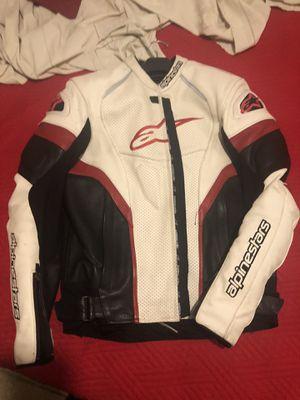 Alpinestar leather jacket for Sale in Garden Grove, CA