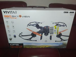 Brand new sealed in box Vivitar 360 skyview video drone for Sale in Lewisville, TX