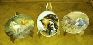 Horses lover plates $20 each for Sale in NO FORT MYERS, FL
