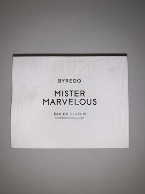 """Byredo """" Mister Marvelous Eau de Parfum. for Sale in Brooklyn, NY"""