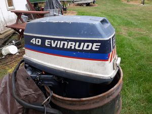 40 hp Evinrude outboard motor for Sale in Lewisberry, PA