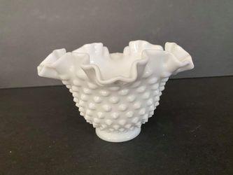 Fenton Milkglass Hobnail Vase for Sale in Midland,  MI