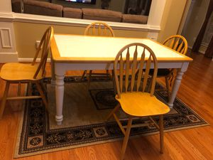 Wooden 5-piece Dining set for Sale in Herndon, VA