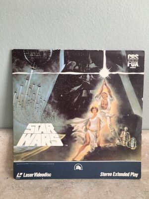 Star Wars 1977 Laser Videodisc for Sale in Sarasota, FL
