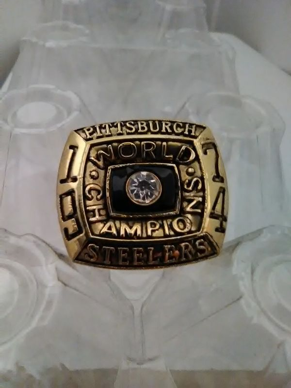 Pittsburgh Steelers 1974 Ring Size 11
